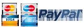 pagar mediante transferencia bancaria, tarjeta o paypal