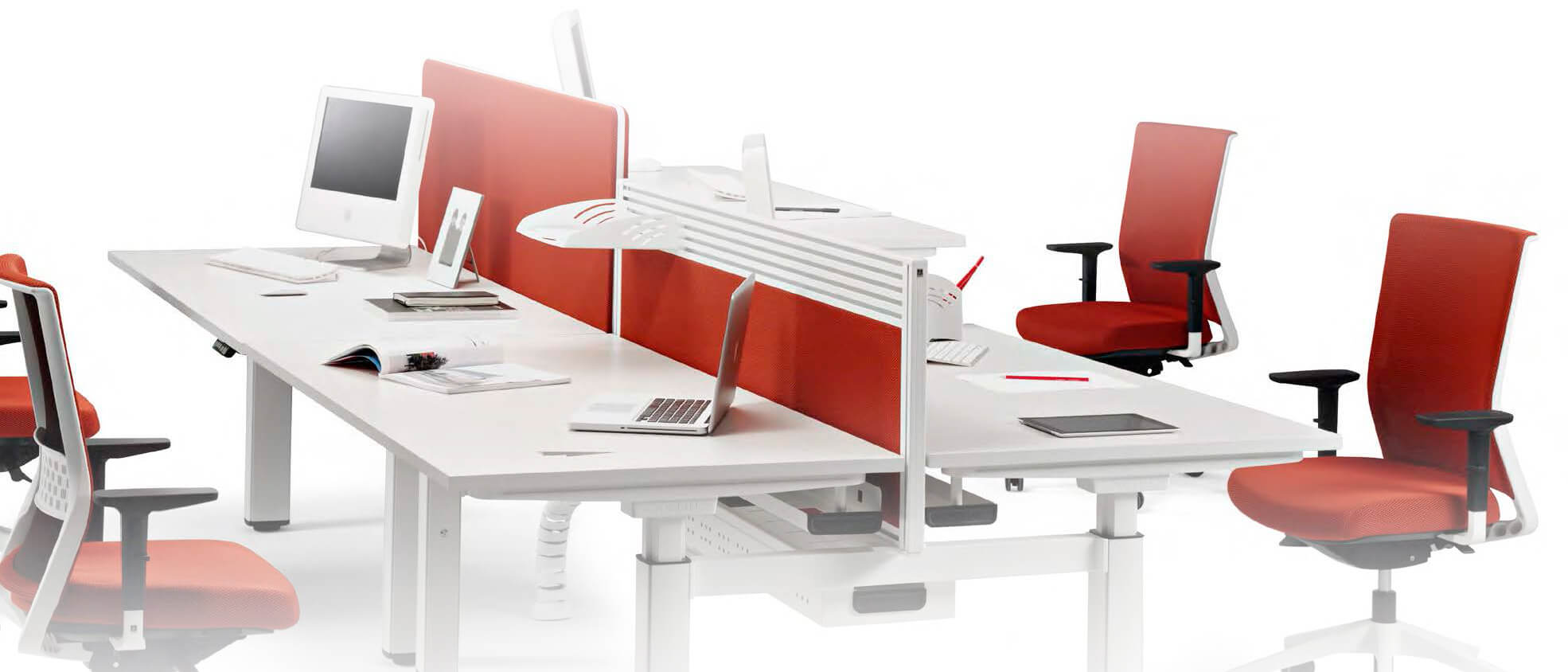 Divisorias actiu precios de separadores de mesas de for Separadores de oficina