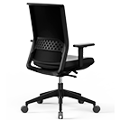 Silla de oficina Stay Express Black