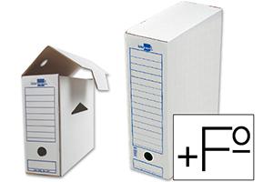 Caja de archivo definitivo folio prolongado Liderpapel