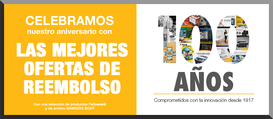 Oferta reembolso Fellowes