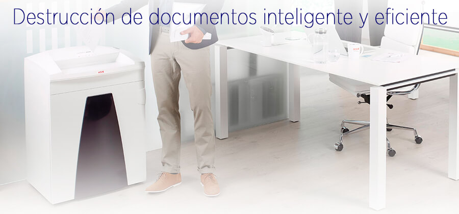 Destructoras de documentos en papel