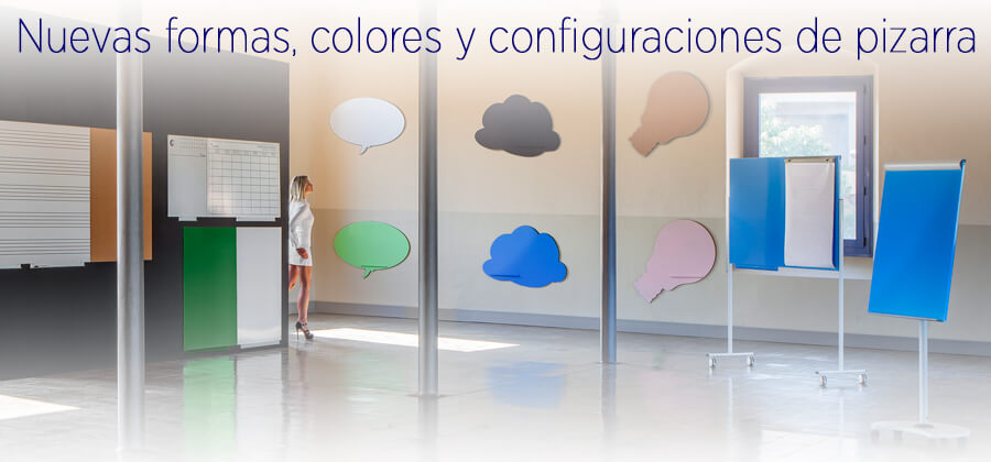 Pizarras de pared SkinWhiteBoard modulares