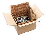 Recilaje de cartón para producir relleno con HSM Profipack 400