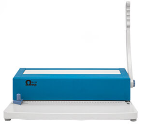 Encuadernadora de espiral barata Omega S125 para uso doméstico y escolar en manualidades de scrapbooking