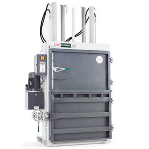 Prensa compactadora enfardadora de balas vertical HSM V-Press 1160