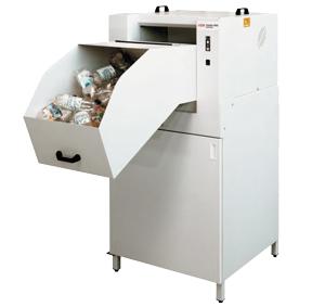 Triturador de botellas y envases de plástico para reciclaje HSM PET Crusher 1049 SA