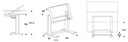 Mesas de dibujo t cnico rd de rocada mobiliario asturalba Mesa para dibujo tecnico
