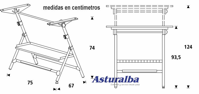 Como hacer una mesa de dibujo cheap empiezo con el mdf y - Mesas dibujo tecnico ...