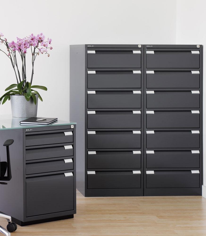 Ficheros met licos multigavetas y cajoneras para oficina - Muebles archivadores de oficina ...