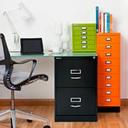 Modulos Para Oficinas Pequenas.Ficheros Metalicos Multigavetas Y Cajoneras Para Oficina Bisley