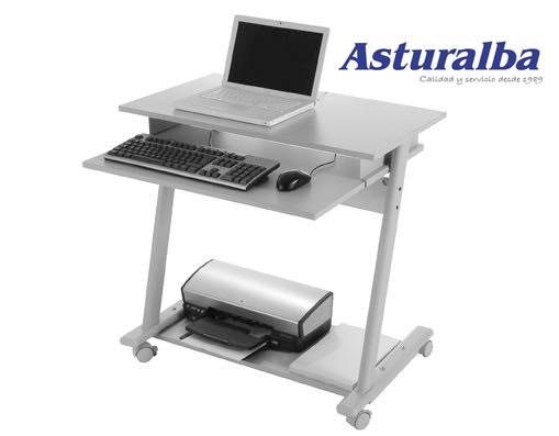 Muebles y mesas para ordenador y equipos inform ticos for Muebles para ordenador