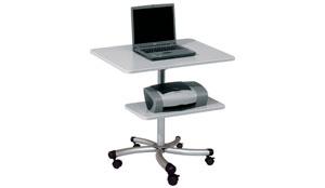 Muebles y mesas para ordenador y equipos inform ticos for Mesa de ordenador con ruedas