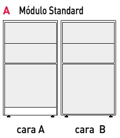 Divisoria por paneles D500 de Actiu