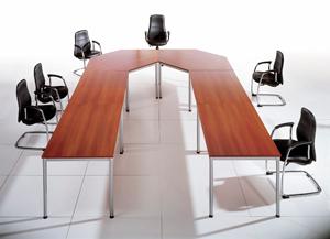 Dynamic Actiu - Mesa de 4 patas para oficina, formación y reunión