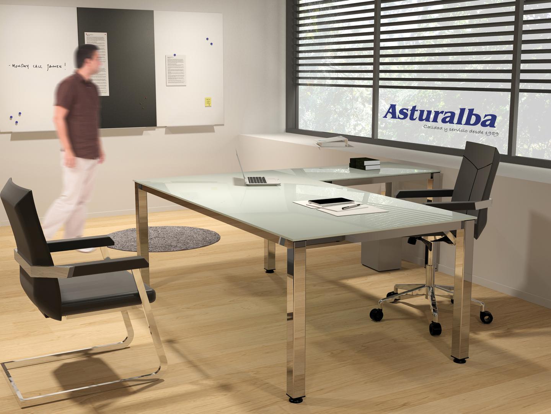 Mesas executive de rocada precios de escritorio para for Muebles oficina mesas