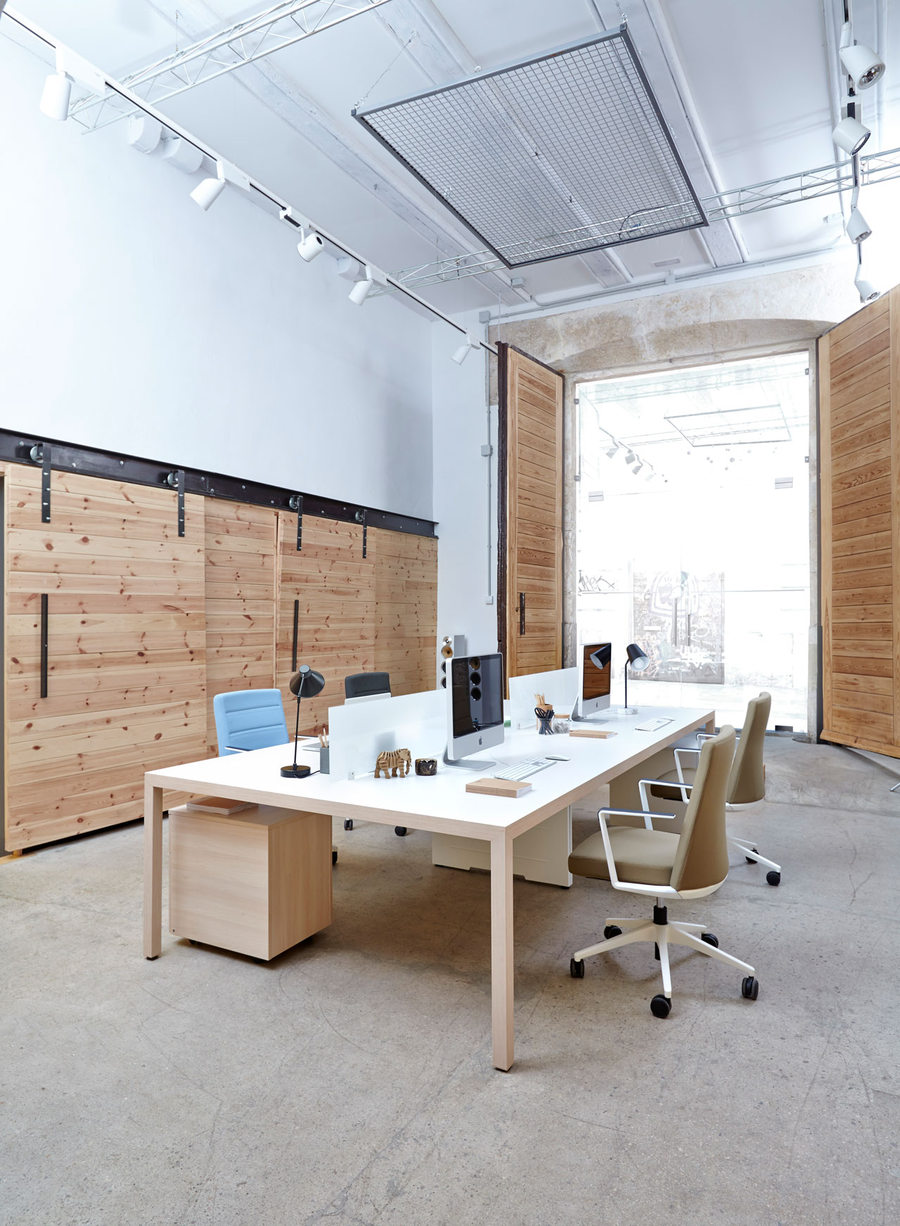 prisma actiu mesa de oficina de dise o n rdico y minimalista