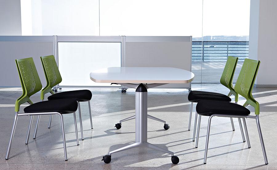 trama actiu mesa de oficina abatible con altura regulable