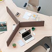 Mesa de diseño para oficina Twist de Actiu