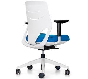 eFit Actiu - Silla ergonómica juvenil con ruedas para oficina