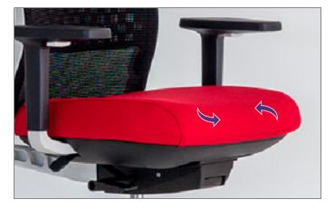Airflow Comfort System de Actiu para la silla Trim