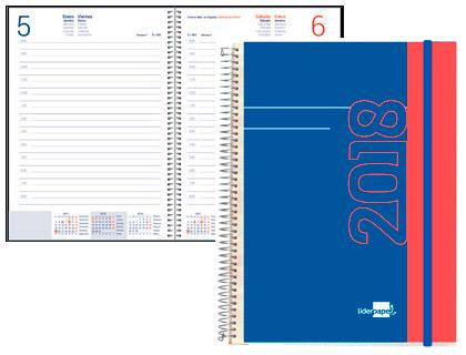 Agendas 2018 material de oficina asturalba for Agendas de oficina