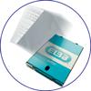 Caja de 100 fundas multitaladro de plástico para proteger documentos