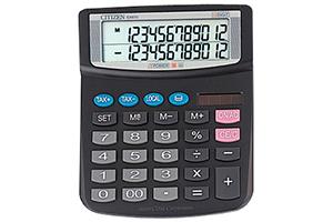 Calculadora de sobremesa barata Citizen EX-870 de 12 dígitos