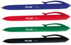 Bolígrafo Milan P1 Touch en caja de 25 en colores azul, rojo, negro y verde