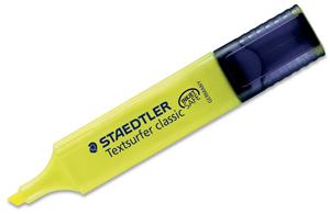 Marcador subrayador amarillo fluorescente Staedtler Textsurfer
