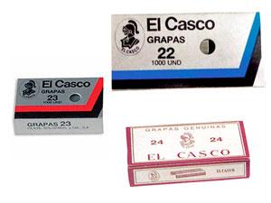Grapas para grapadoras El Casco