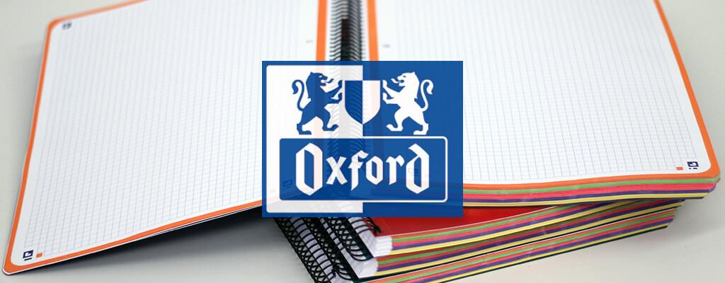 Cuadernos y libretas Oxford